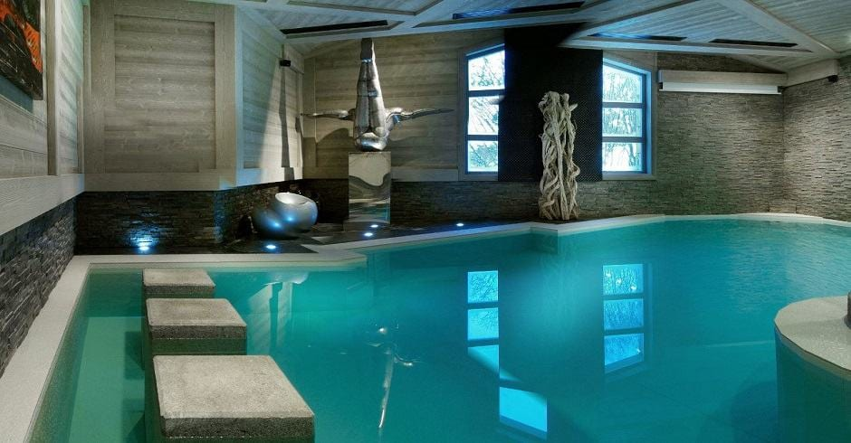 Chalet Black Pearl - Val d'Isere. Luxury chalets in France with swimming pools