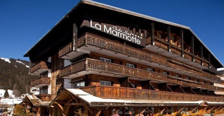 Chalet-Hôtel La Marmotte, La Tapiaz & SPA - Les gets