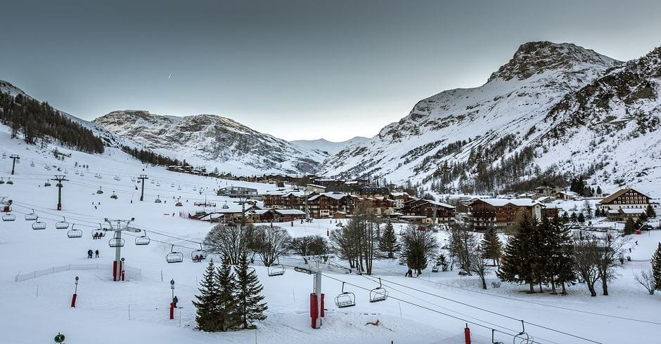 Views from Hotel Le Yule - Val d'Isere