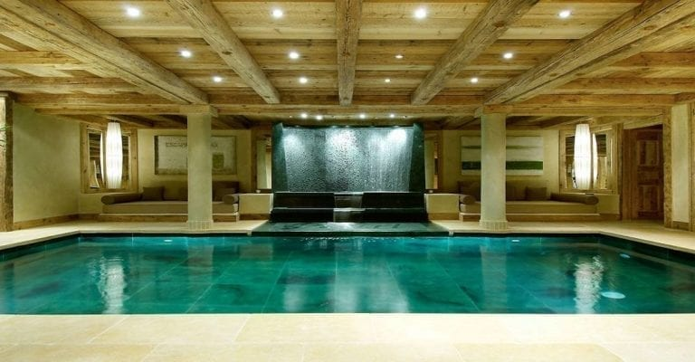Swimming Pool Chalet Pearl - Courchevel 1850