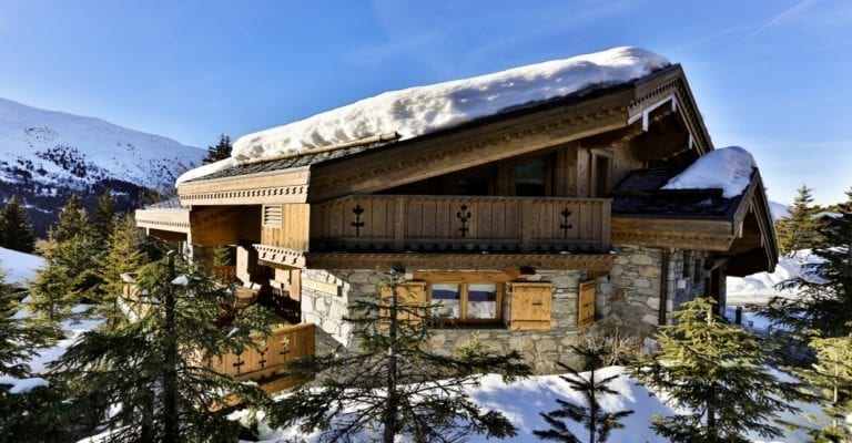Chalet Trois Ours 5 Bedroom sleeps 10 - Meribel