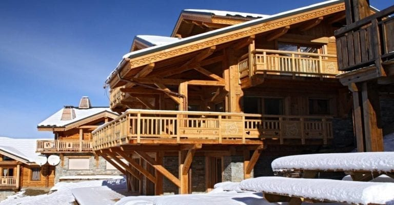 Chalet Husky 5 Bedroom - sleeps 12 - Les Deux Alpes