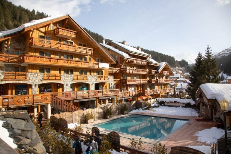 Hotel Le Tremplin Meribel © Paul Skinner / Top Snow Travel