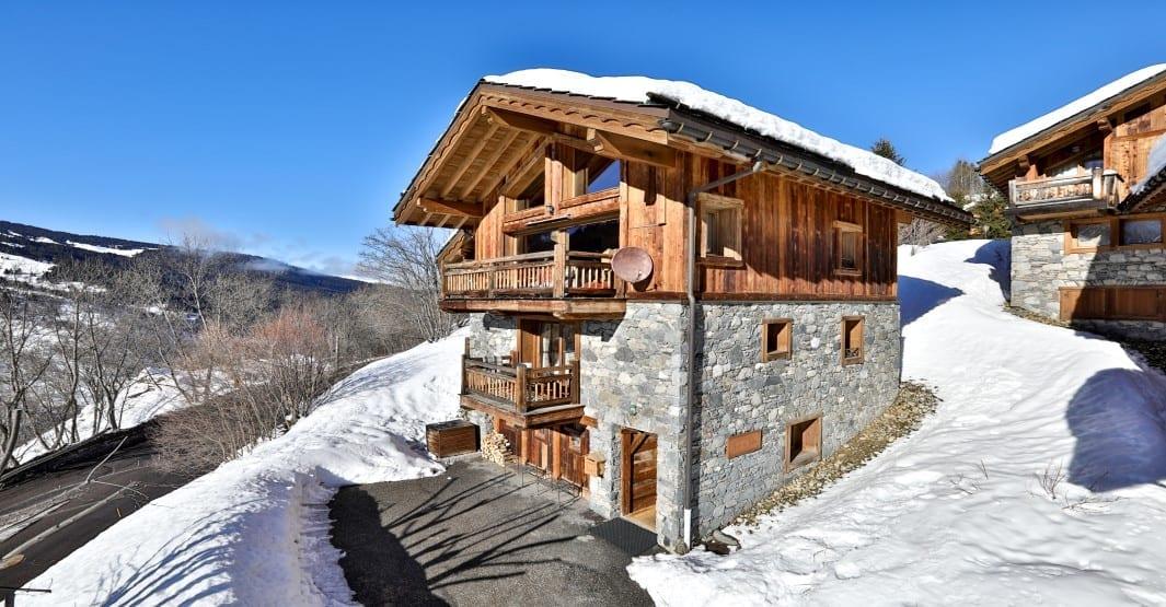 Chalet du Vallon 4 Bedroom - sleeps 8 - Meribel Village