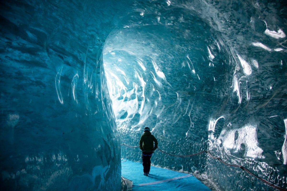Chamonix Mont Blanc Ice Cave - © Top Snow Travel