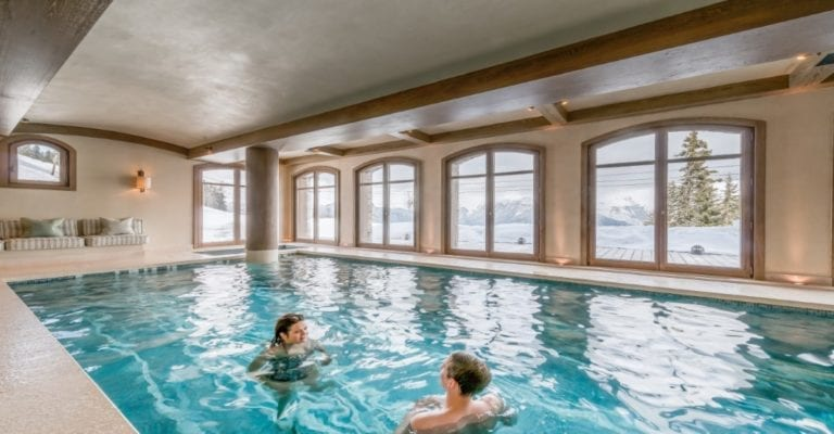 Swimming Pool, Chalet Shemshack Lodge - Courchevel 1850