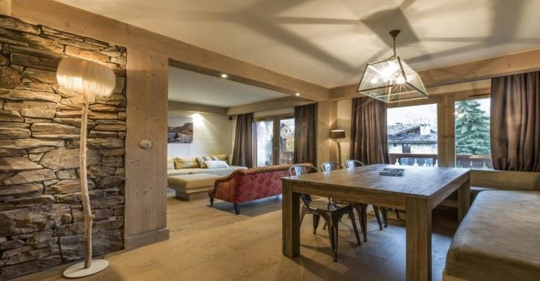 Valcoeur 3 bedroom apartment Val d'Isere