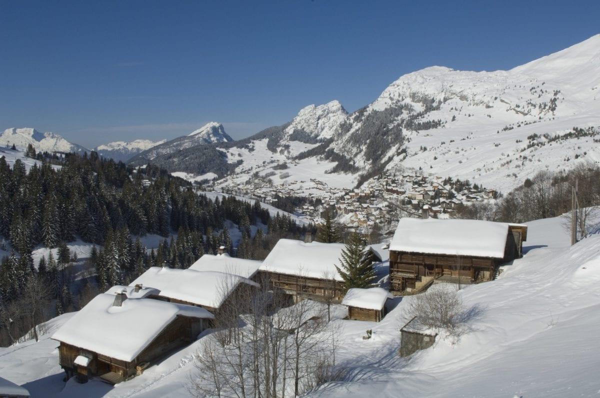 Gra&nd Bornande Massif Des Aravis Haute Savoie