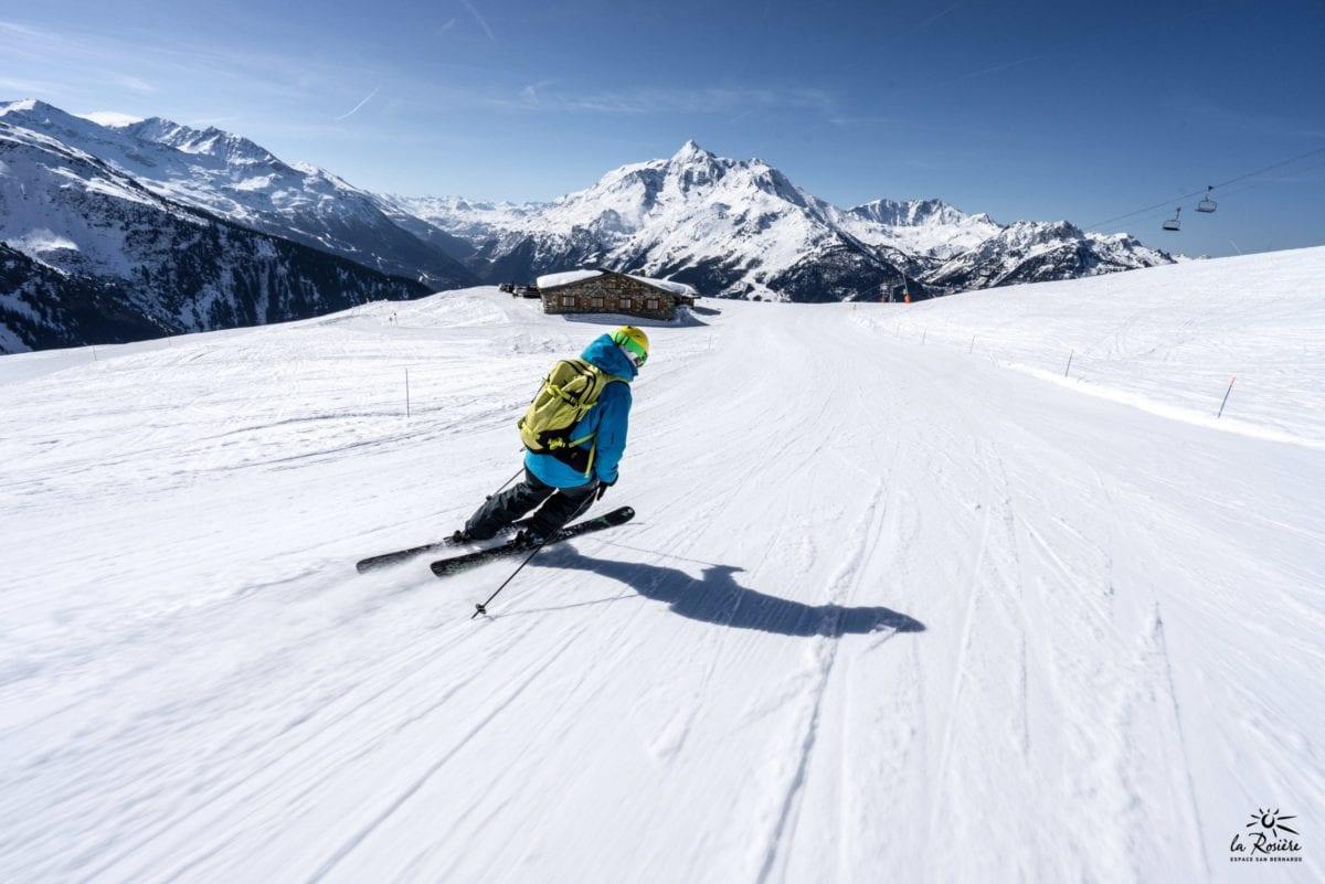 Ski Sur Piste Bleu 34848220852 O