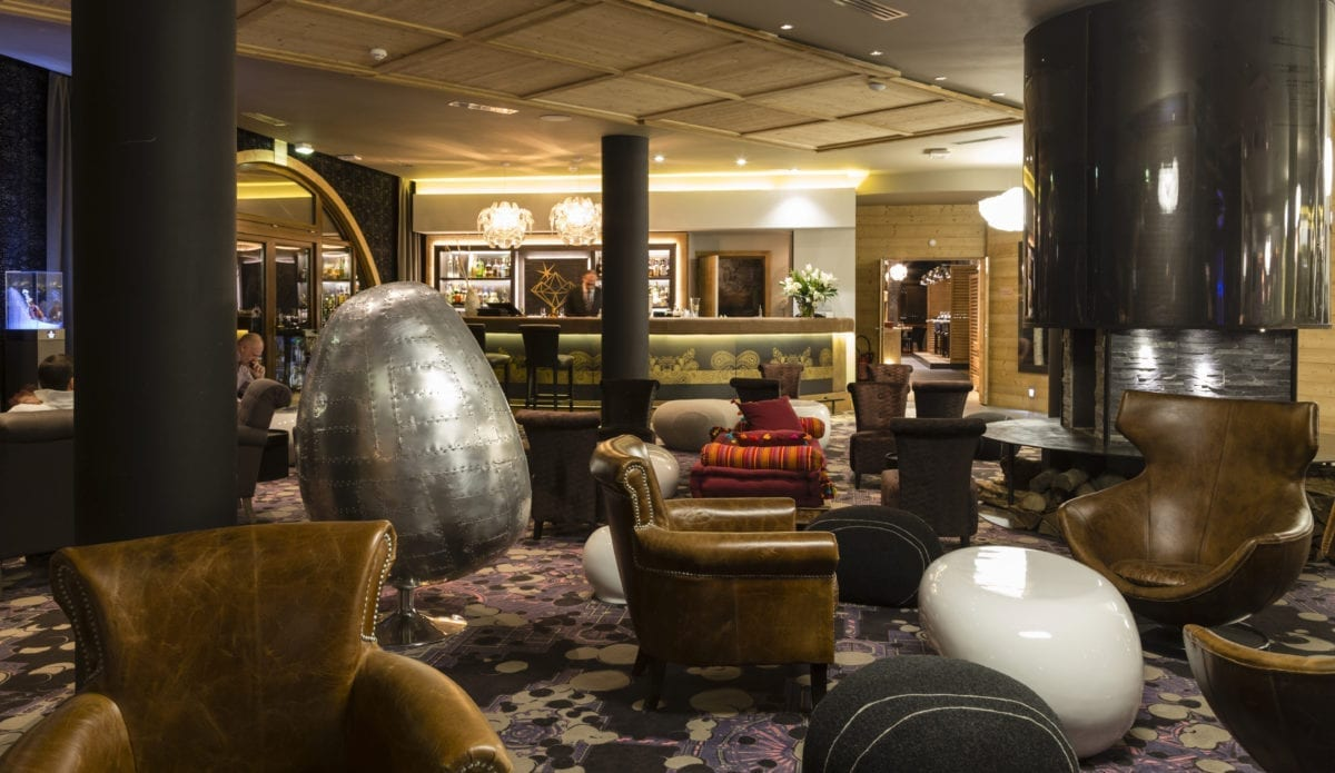 Bar lounge Hotel Koh-I Nor - Val Thorens