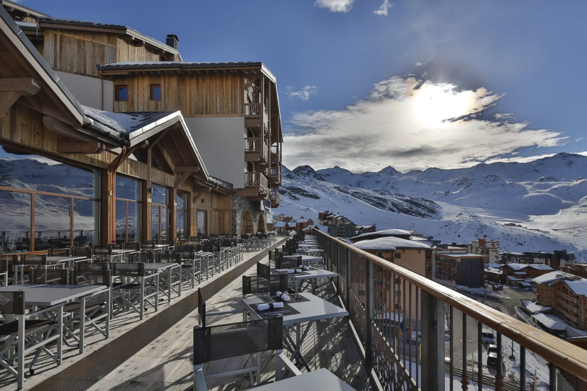 Le Diamant Noir Restaurant Hotel Koh-I Nor - Val Thorens