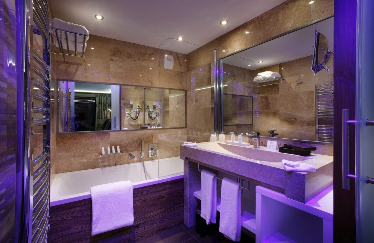 Duo Room 26 M² Bathroom Hotel Koh-I Nor