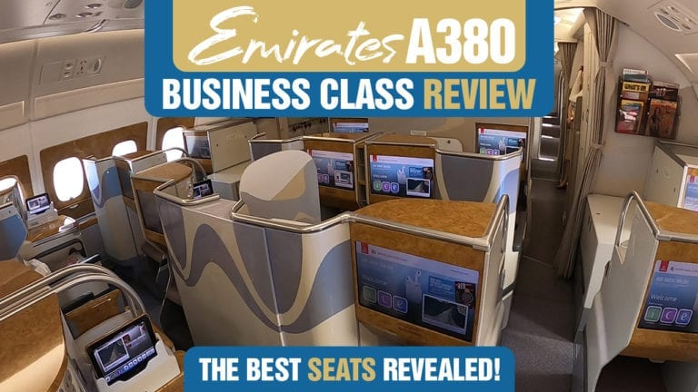 Emirates A380 Business Class Review The Best Seats Revealed