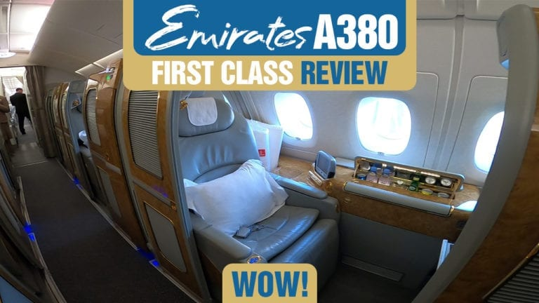 Emirates A380 First Class Review Wow