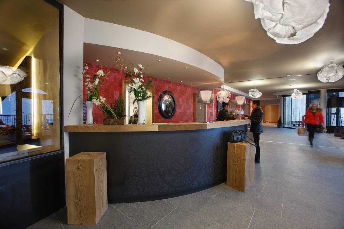 Reception Hotel Koh-I Nor - Val Thorens