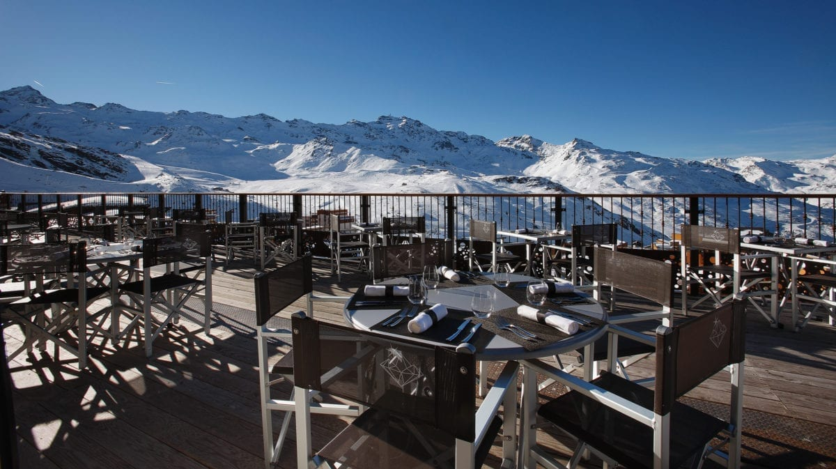 Views from Hotel Koh-I Nor - Val Thorens