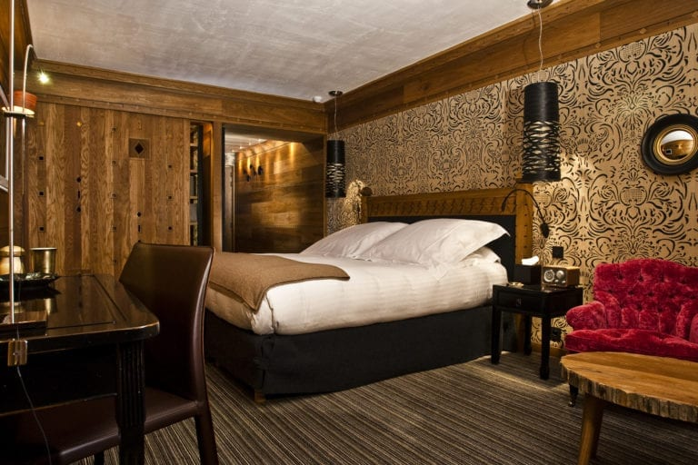 Luxe Room Mountain View - Hotel Le Blizzard - Val d'Isere