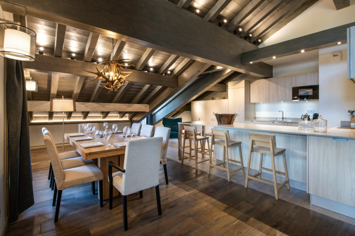 Keystone Lodge 4 Bedroom Penthouse C18 - Courchevel Moriond