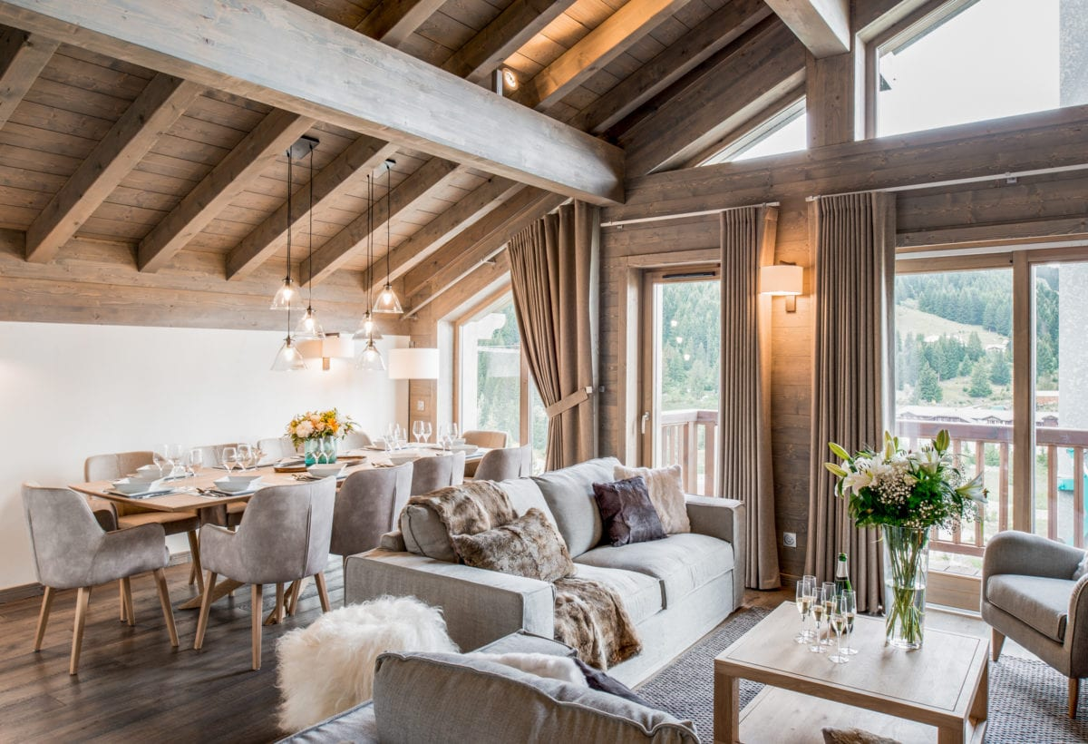 Mammoth Lodge 3 Bedroom Apartment D10 Courchevel Moriond