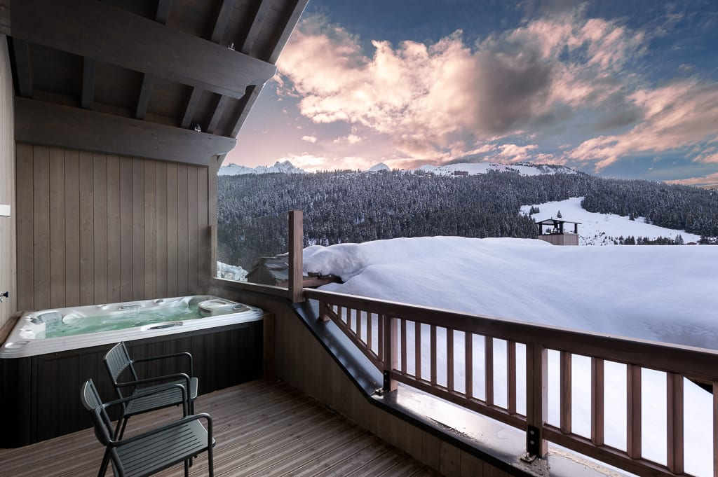 Mammoth Lodge 8 Bedroom D15 Penthouse Courchevel Moriond (1670)
