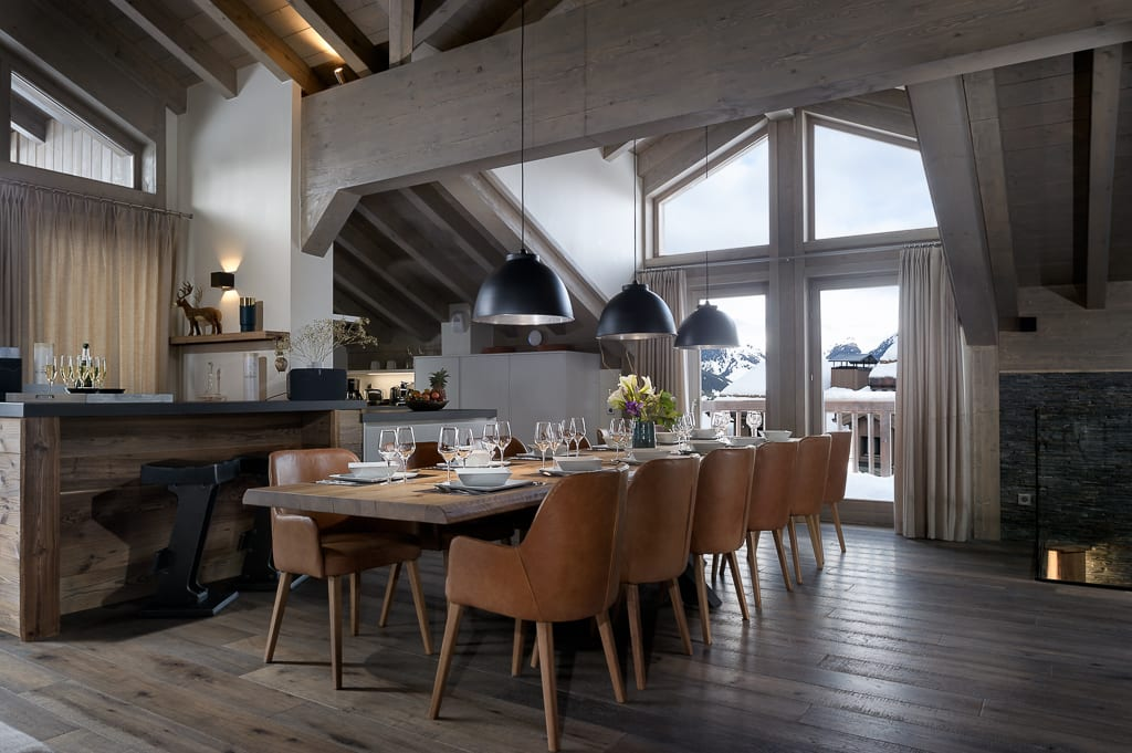 Mammoth Lodge 8 Bedroom D15 Penthouse Courchevel Moriond (1671)