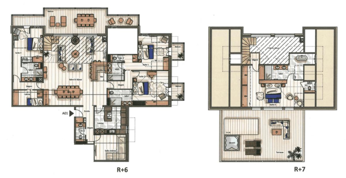 Manali Lodge 5 Bedroom Signature Suite Kinabalu Floor Plan