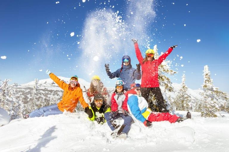 Happy Ski Holidays - © molchanovdmitry